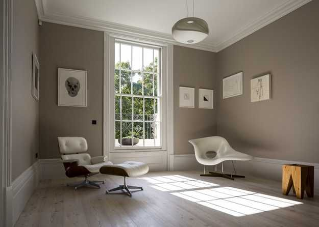 renovating brick walls with black | Old House Renovation in London Created Beautiful Glass Extension and ...