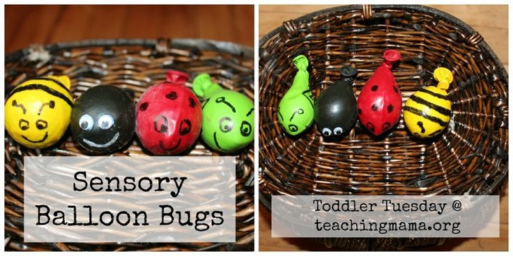 """Sensory Balloon Bugs ("""",)"""