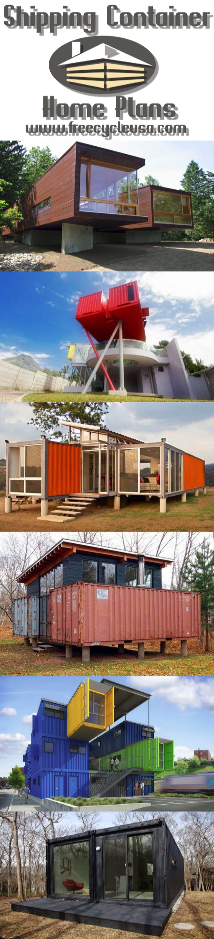 961 best cargo container homes images on pinterest | shipping