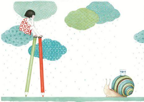 Pinzellades al món: Il·lustracions de Seng Soun Ratanavanh: la infancia poètica