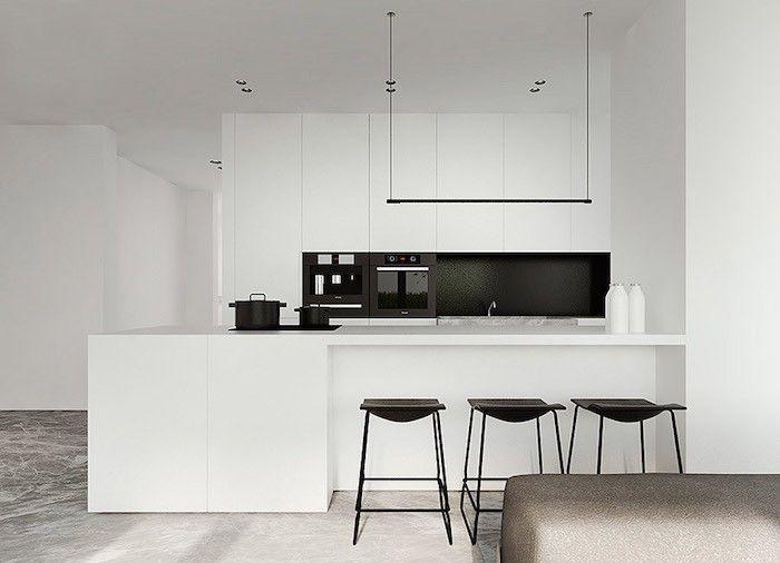 Schöpfen Sie Neue Inspiration Von Unseren Einrichtungsideen,damit Sie Ihr  Zuhause In Schwarz Und Weiß Nach Dem Letzten Modetrend Im Innendesign  Gestalten.
