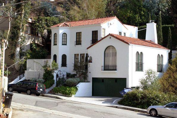 Home of Debra Messing and husband Daniel Zelman, Hollywood Hills, CA.