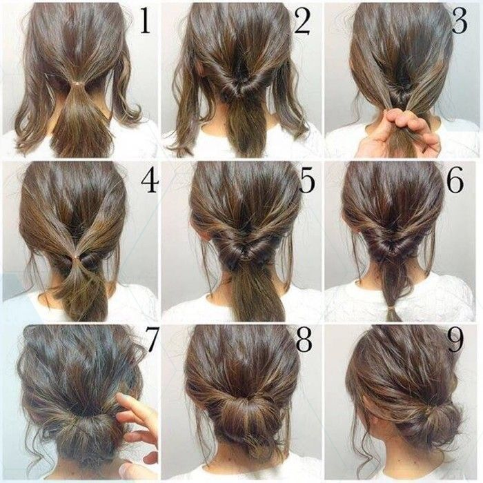 Großartig Großartig Step by step up do to create an easy hair style that looks lovely but is simple …, #artig #create #frisuren #frisuren2019damen…