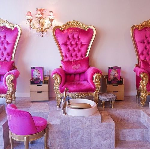 341 best chair 10 images on pinterest armchairs chairs for A little luxury beauty salon