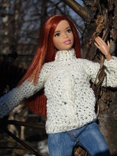 Солнечный день для солнечной девушки. гибрид на основе Барби-йоги / Куклы Барби…