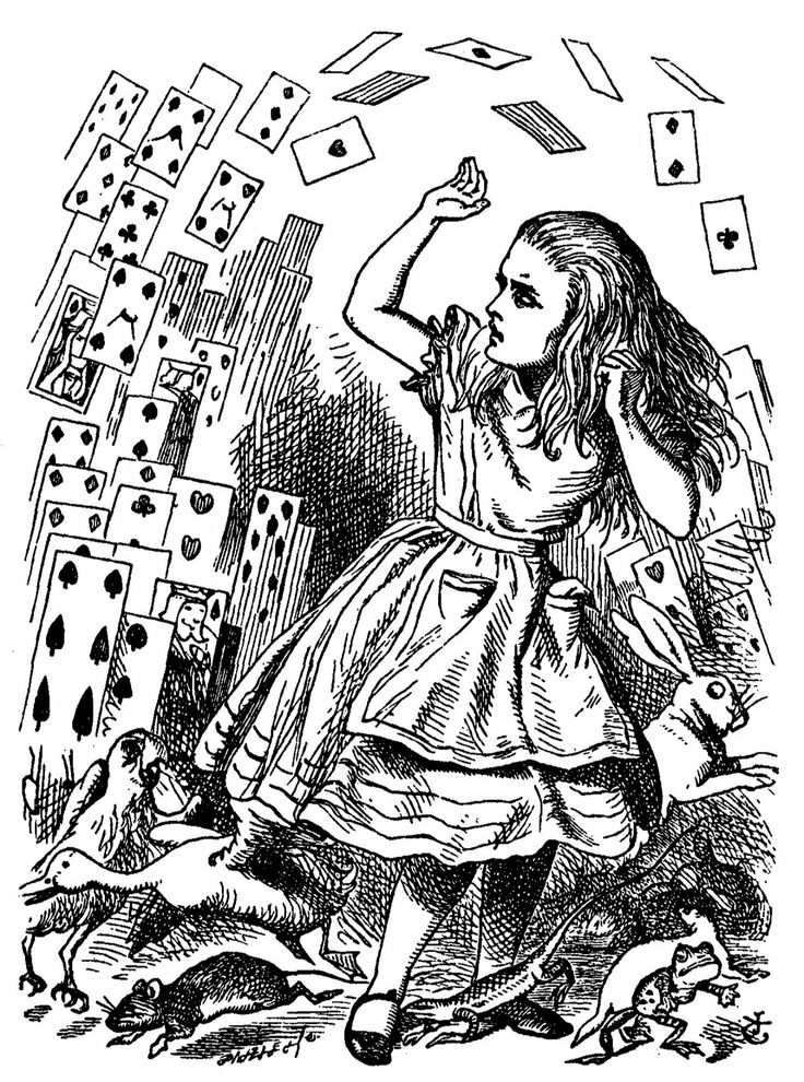 the dilemma of alice in alice in wonderland by lewis carroll 12 absurd facts about alice in wonderland when alice's adventures in wonderland came out (better known as lewis carroll): 1 the real alice was the.