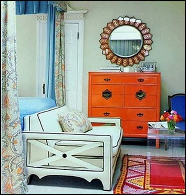 Painted Furniture ~ Orange