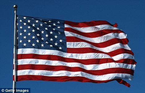 Old Glory: The flag is an iconic symbol of the USA's patriotism and the country's famous battle for independence