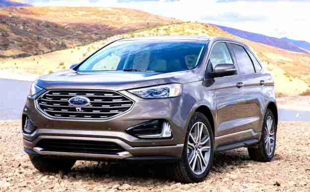 2021 Ford Edge Price Ford Edge Crossover Suv Ford