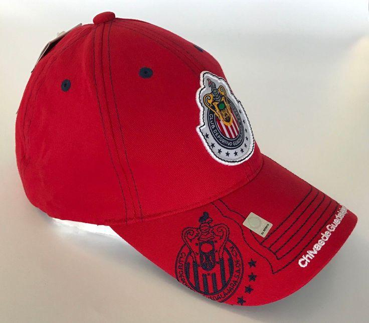 Chivas Cap Mexico Hat Adjustable Chivas Rayadas de Guadalajara FMF