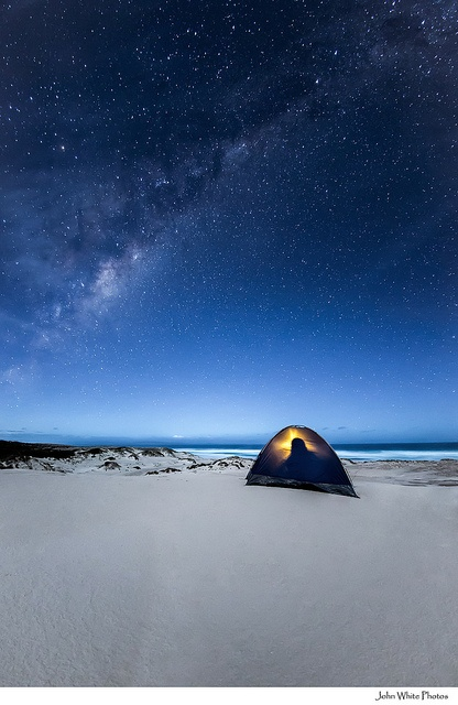 Milky Way over the Southern Ocean - by John White.