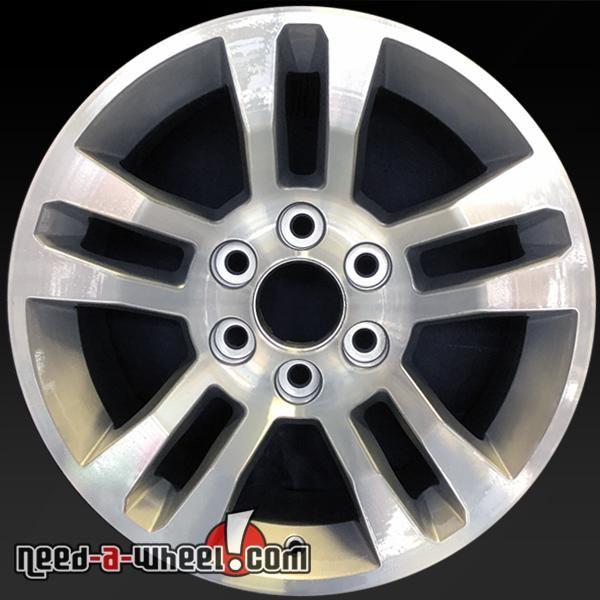 "2014-2016 Chevy Truck wheels for sale. 18"" Machined stock rims 5646 http://www.need-a-wheel.com/rim-shop/18-chevy-truck-wheels-oem-machined-5646/ , #chevrolet, #chevywheels, #silverado, #suburban, #tahoe, #oemwheels, #factorywheels"