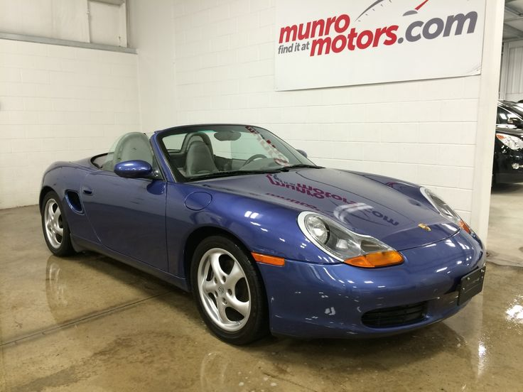 "Low Km, clean Carproof, started life in Alberta in 2001 and then came to Ontario. We have replaced the water pump, and serviced the car including safety check and Etest, it is ready to take home with you. This car handles so well because of the mid engine and the Porsche suspension design. There is a front ""boot"" as well as a rear trunk that will hold luggage and golf clubs. Years of fun ahead of the next owner, could that be you? Click through for more info, or check us out at…"