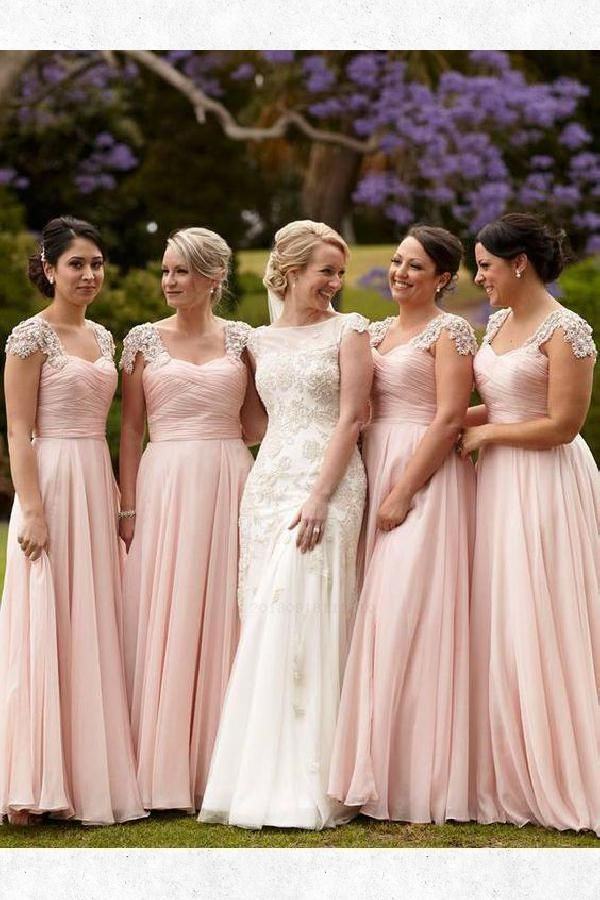Custom Bridesmaid Dress Modest Mother Of Bride Dresses Bridesmaid Dress Pink Cust Blush Bridesmaid Dresses Modest Bridesmaid Dresses Pink Bridesmaid Dresses