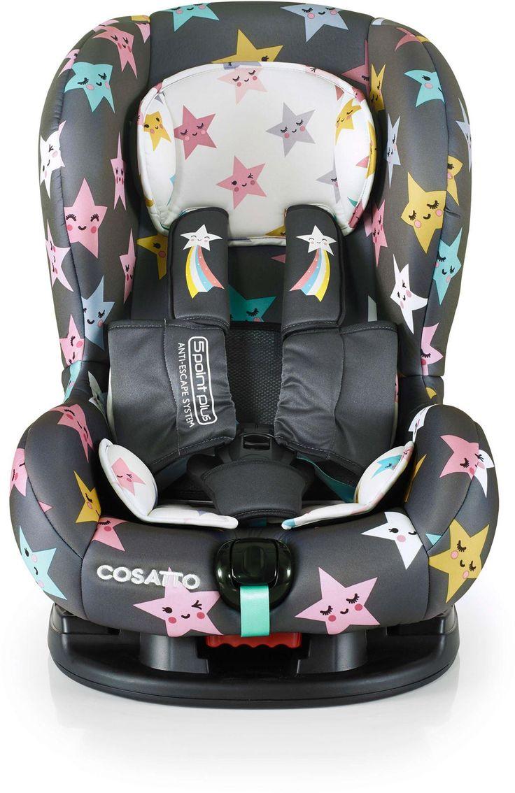 Cosatto Moova 2 Siège auto anti-évasion du groupe 1 – Happy Hush Stars  – Products