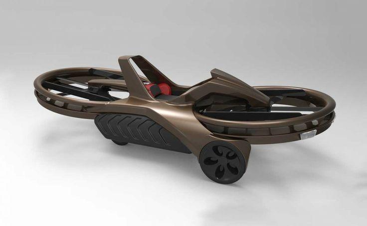 The Aero-X hovercraft