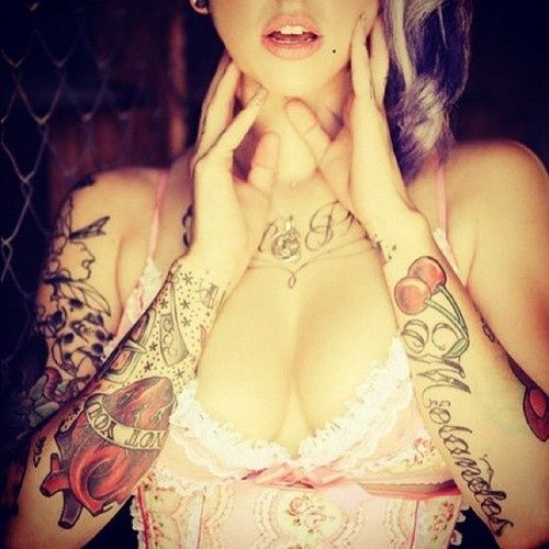 #tattoos #ink #inked #tattoo blog #ink blog #inked chicks #tatted chicks #girls with tattoos #guys with tattoos #cute couple #couple #retro #fashion #indie #hipster #hipster blog #follow back #photography #black and blog #b blog #black and white #hair #long hair #sexy hair #skinny #thin #piercings #piercing #tattoos and piercings