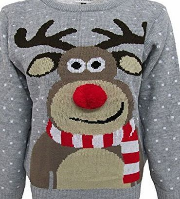 PURL XMAS JUMPERS, RUDOLPH POM POM, Grey, UK 8-10 Our Xmas jumpers are perfect for festive season. Thesere comfy and soft. Enjoy late night parties in freezing cold with our fantastic jumpers. Please message us at PURL (Barcode EAN = 0619512775667) http://www.comparestoreprices.co.uk/december-2016-week-1/purl-xmas-jumpers-rudolph-pom-pom-grey-uk-8-10.asp