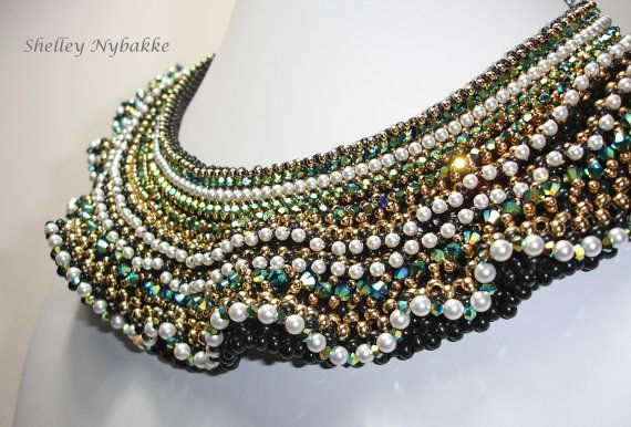 Breathless Jet 2X necklace by SturdyGirlDesigns on Etsy, $1200.00