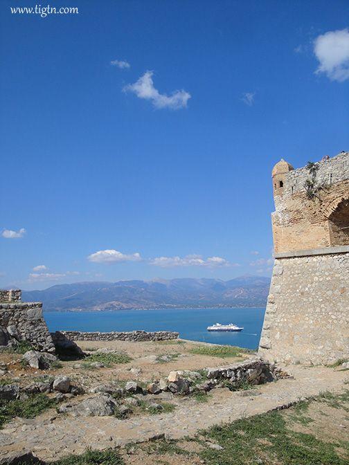 View of the #Argolic Gulf from #Palamidi Castle in #Nafplio, #Argolida - #Greece