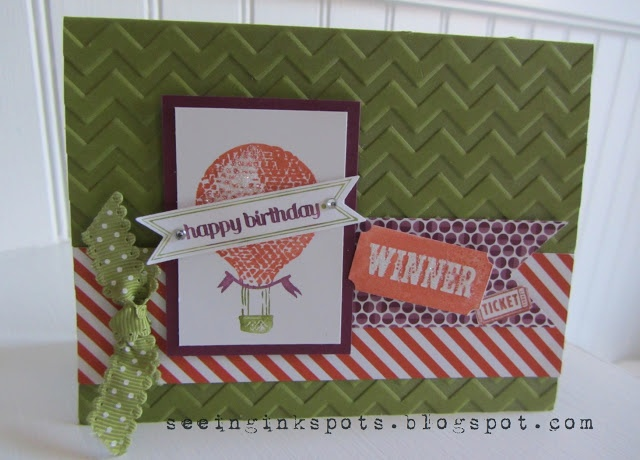 Seeing Ink Spots: 2013 Cards, Cards Ideas, Happy Birthday, Cards Stampin, Amazing Stamps, Birthday Cards, Suthemeskidz Cards, Ink Spots, Greeting Cards