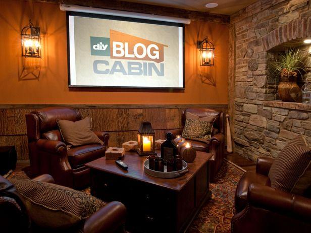 man cave photos diy blog cabin 2009 blog cabin diy network