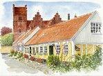 Toldboden og Præstø kirke. #praestoe