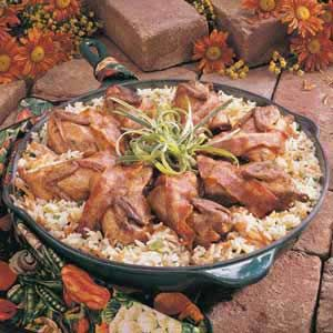 Quail With Rice Recipe...This is a good one!