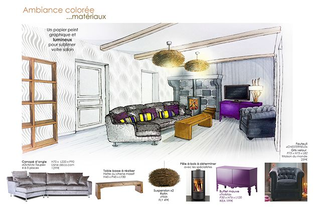 Deco p 10 16 st phanie auzat d coration d coratrice for Design architecture interieur