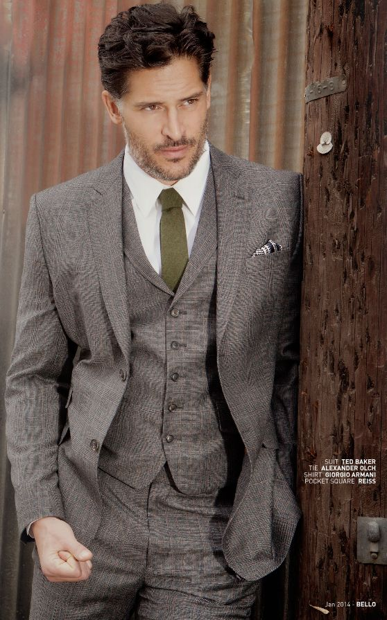 Joe Manganiello | mens style from @BELLO  #GetLostOnIssuu