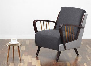 Vintage armchair. #viremo #50s #60s #70s #Midcentury #Vintage #Retro #Cocktail_Chair www.viremo.co.uk