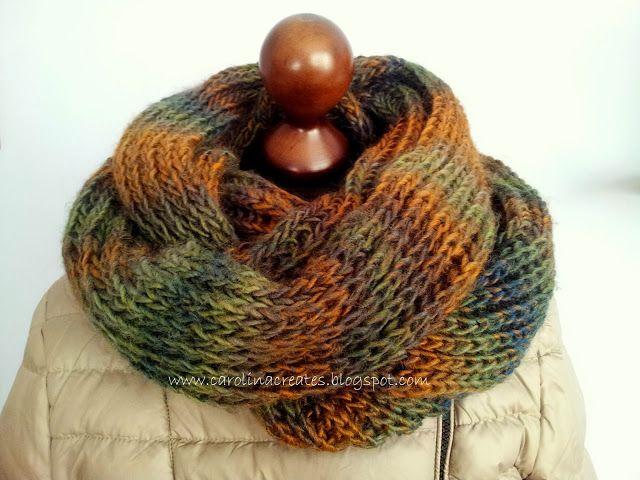 Carolina Creates - Himalaya Padisah neck warmer / komin, otulacz na szyję