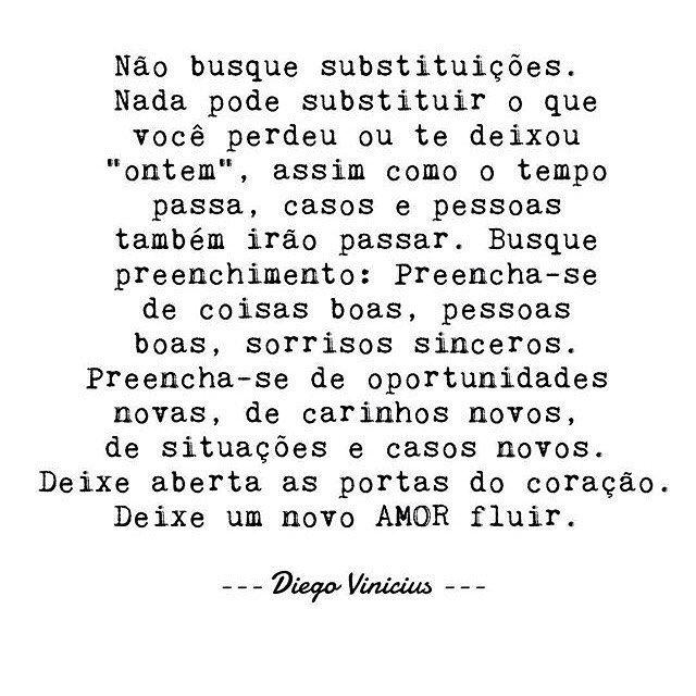 #regram @escritordiegovinicius E não esqueça do amor próprio! Boa noite queridos! ❣️ #frases #textos #amor #pessoas #vida #recomeço