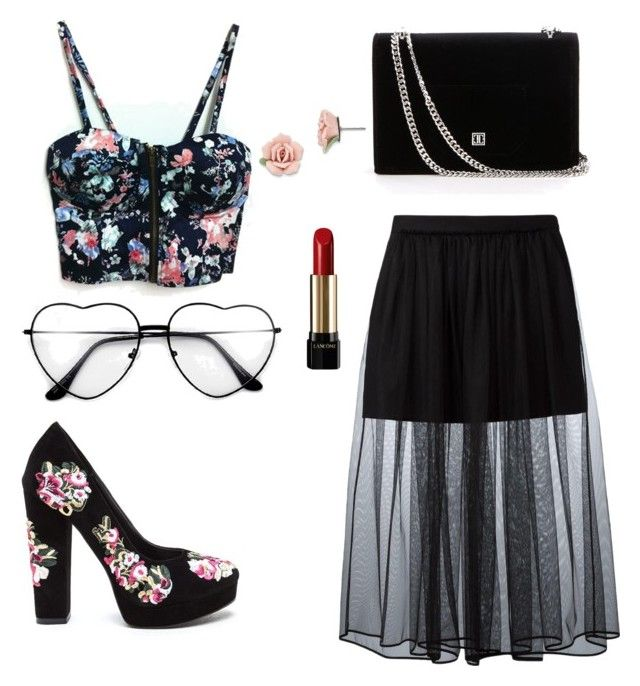 """""""Sweet love"""" by emka-kruta on Polyvore featuring WithChic, Givenchy, 1928 and Lancôme"""