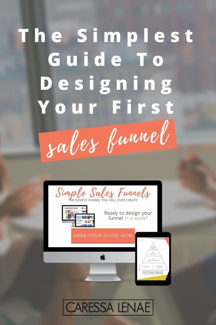 Getting started with sales funnels couldn't be any easier. Grab your simple…
