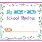 My Classroom Timeline SB lesson :) Check it out.