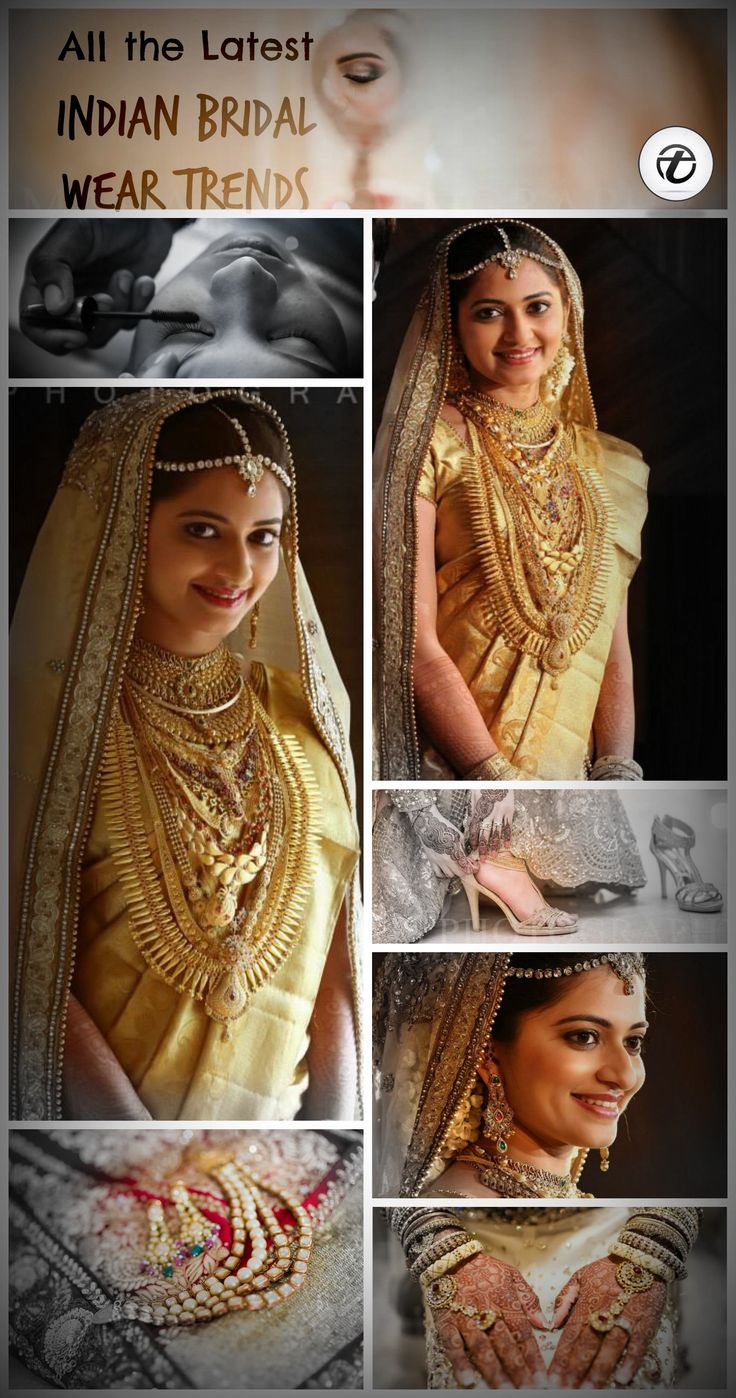 indian bridal outfit trends - Latest wedding dresses for indian brides