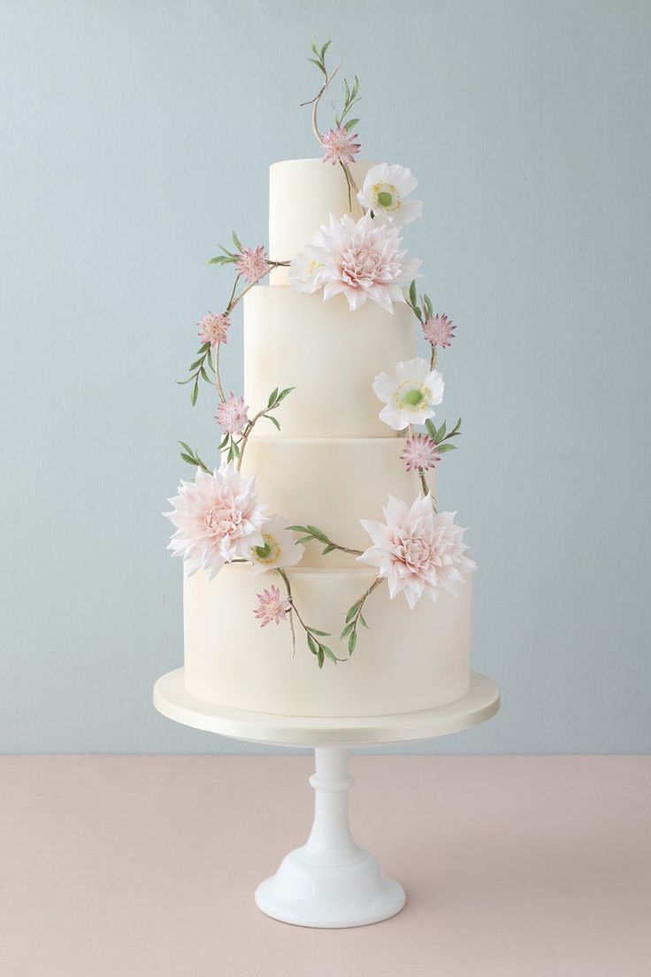 simple but cute wedding cakes 5485 beste afbeeldingen cakes cake en cakes 19938