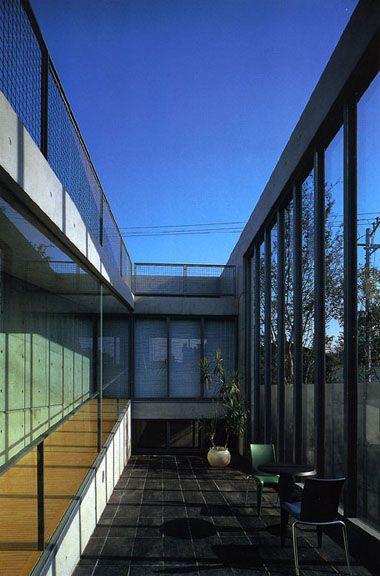 Lee House. 1992-93. Funabashi, Tokyo, Japón. Tadao Ando.