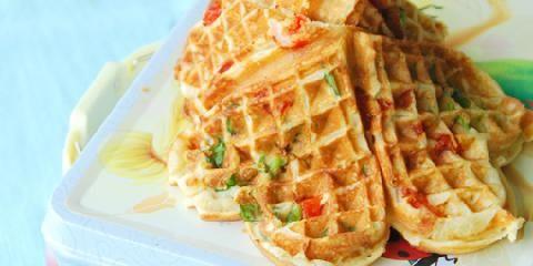 Server brødfrie matpakker til minsten. Sats heller på grove vafler, matmuffins eller deilige wraps.