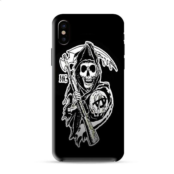 Sons Of Anarchy Mc Logo Iphone X 3D Case Caseperson