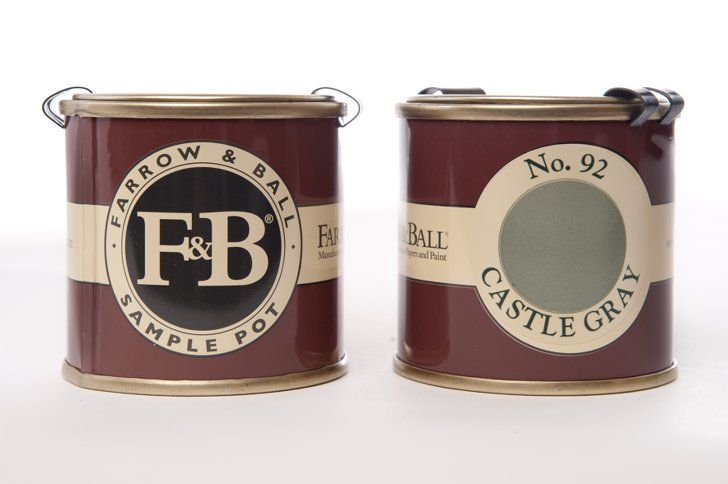 Pin for Later: Proof Drew Barrymore Is a Domestic Goddess Farrow & Ball Sample Pots