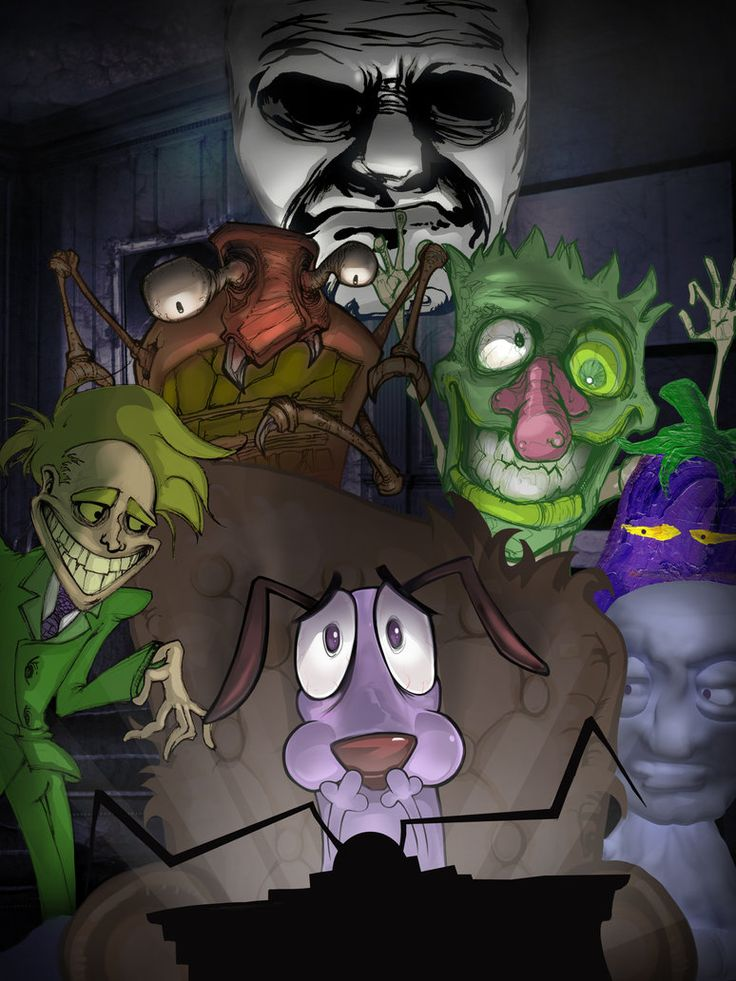 Courage the Cowardly Dog by jeff4hb on deviantART