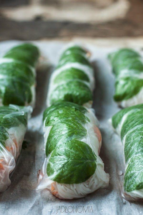 Spring Rolls - jadłonomia • przepisy wegetariańskie