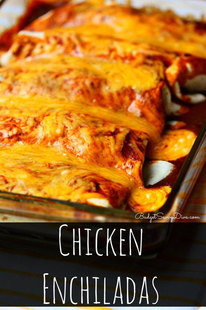 1000+ ideas about Easy Chicken Enchiladas on Pinterest ...