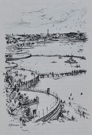 Textbook sketchbook of Geelong  http://bit.ly/INFElu  #geelong