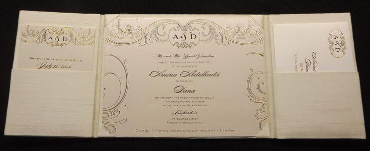 Silk Box Wedding Invitations