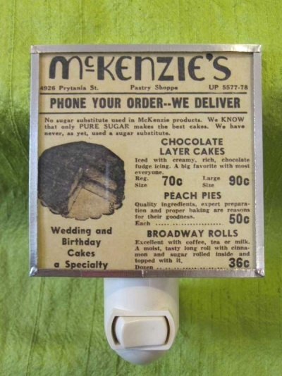 McKenzie's Bakery.....so good.  Turtles, brioche, King Cakes, Petit Fours, donuts, Blackout Cakes!