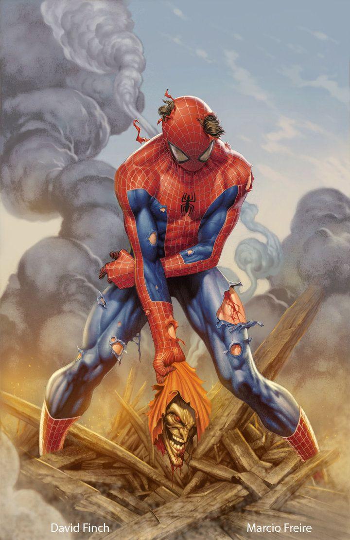Spiderman by marciofreire3d