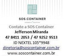 Faça seu projeto de container com a SOS Container